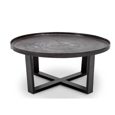 Raisa Coffee Table Color: Raw Bronze