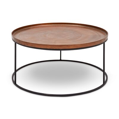 Novack Coffee Table Color: Copper