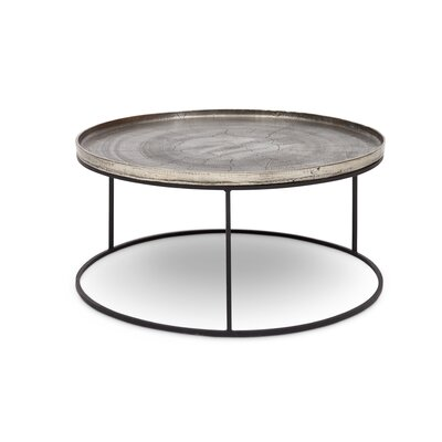 Novack Coffee Table Color: Silver