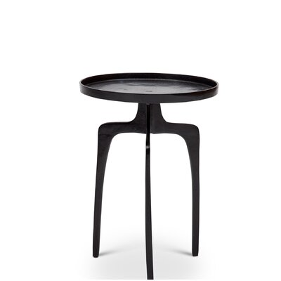 Weiland End Table Color: Raw Bronze