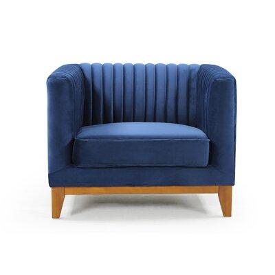 Glenville Armchair Upholstery: Blue