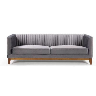 Glenville Sofa Upholstery: Gray