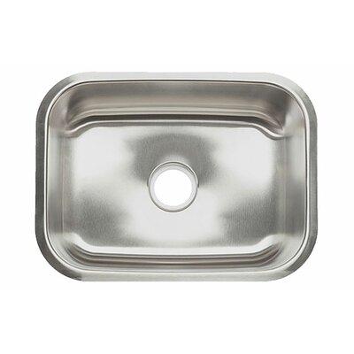 23 x 17.5 Single Bowl Undermount Kitchen Sink
