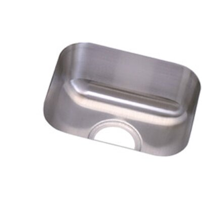 Clark 18 Gauge 14 x 12 Single Basin Undermount Kitchen Sink