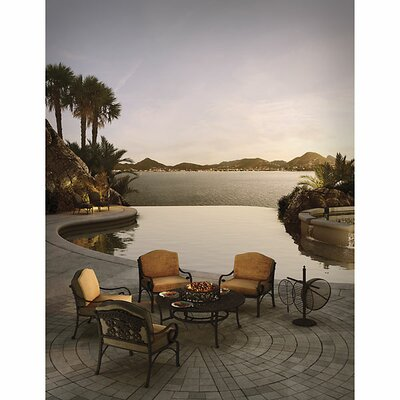 Maravilla 5 Piece Fire Pit Seating Group with Cushions
