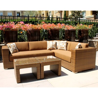 Mataro 3 Piece Deep Seating Group with Cushions