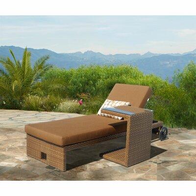 Mataro Chaise Lounge with Cushion