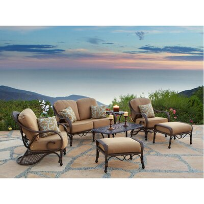 Loreto 7 Piece Deep Seating Group with Cushions