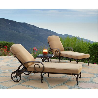 Loreto Chaise Lounge with Cushion