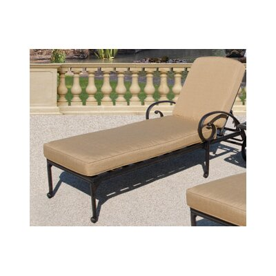 Maravilla Chaise Lounge with Cushions