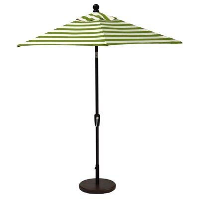 Wildon Home 7.5' Market Umbrella (2 Pieces) - Frame Finish: Champagne, Fabric: Spectrum Sand
