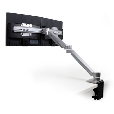 ErgoExtend Height Adjustable 2 Screen Desk Mount