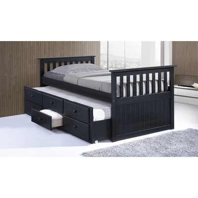Broyhill Kids Marco Island Captain's Bed with Trundle Bed and Drawers 09640-319