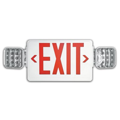 Combo Exit Emergency Light