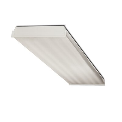 4-Light Fluorescent Wrap Light Fixture