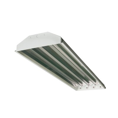 4-Light High Bay Fluorescent Light Fixture