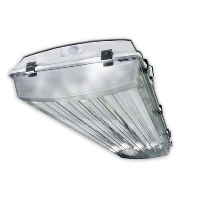 4-Light Vapor Proof High Bay Fluorescent Light Fixture