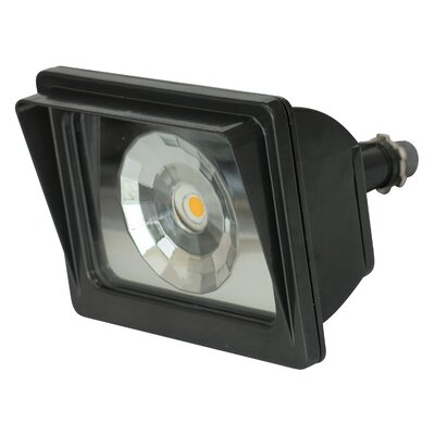 LED Flood Light Finish: Dark Bronze, Bulb Type: 20W