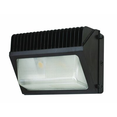 Medium LED Wall Packs Bulb Type: 46W