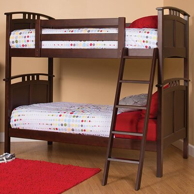 Astoria Twin Bunk Bed Finish: Coffee