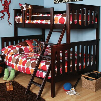 Seneca Twin over Full Bunk Bed Finish: Coffee