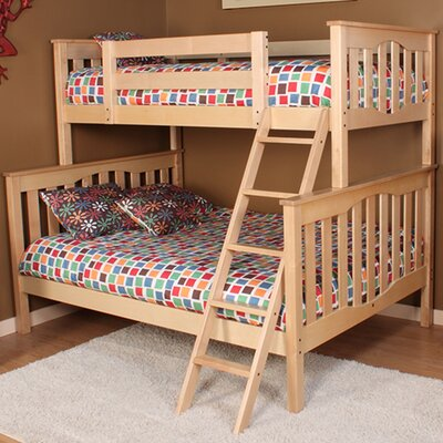 Seneca Twin over Full Bunk Bed Finish: Natural Birch