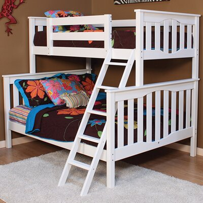 Seneca Twin over Full Bunk Bed Finish: White