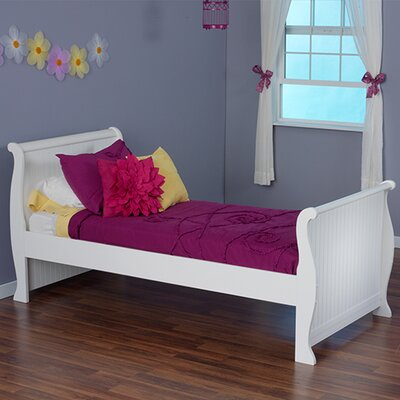 Dakota Sleigh Bed Size: Twin
