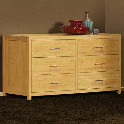 Niko 6 Drawer Double Dresser