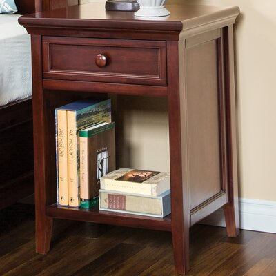 Verona 1 Drawer Nightstand