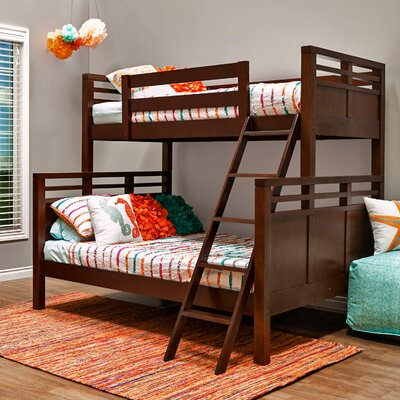 Quinn Twin Over Full Bunk Bed Finish: Espresso