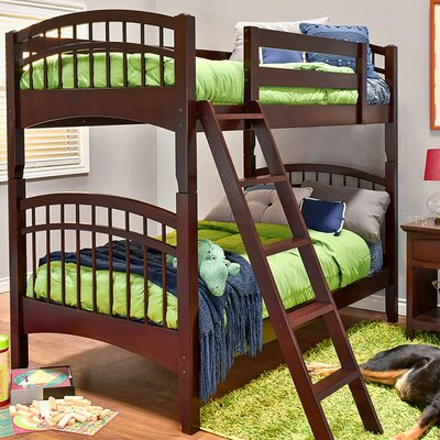 Mckenzie Twin Bunk Bed Finish: Coffee