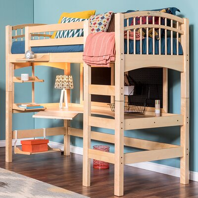 Mckenzie Loft Bed Finish: Natural Birch