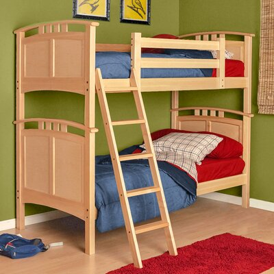 Astoria Twin Bunk Bed Finish: Natural Birch