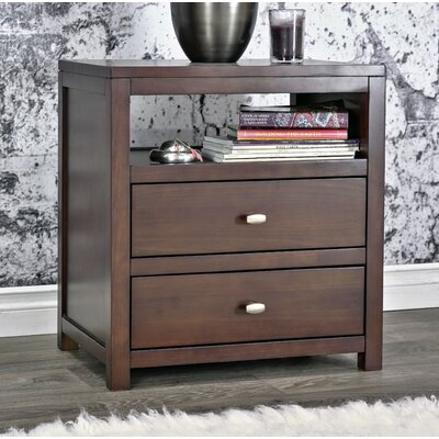Parkrose 2 Drawer Nightstand
