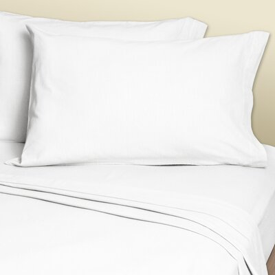 4 Piece 200 Thread Count Sheets Set Size: King, Color: White