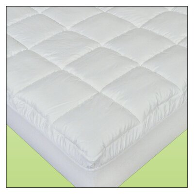 Linen Resource Cotton Plush Waterbed Cover Mattress Size: Queen