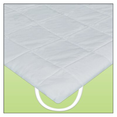 Linen Resource Quilted Anchor Band Waterbed Cover Mattress Size: King