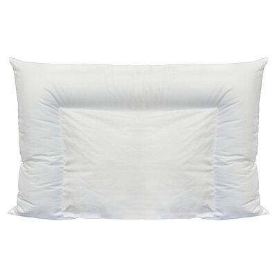 Crescent Premium Polyfill Pillow Size: King