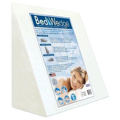 Bed Wedge Foam Pillow Size: 23 H x 23 W x 12 D