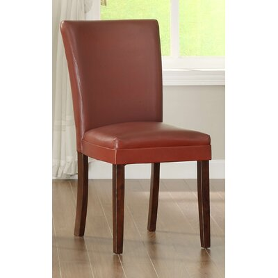 Belvedere 24 Bar Stool (Set of 2) Finish: Lava Red