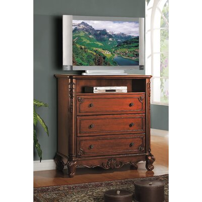 Madaleine 3 Drawer Media Chest