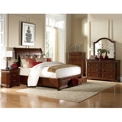 Karla Queen Platform Customizable Bedroom Set
