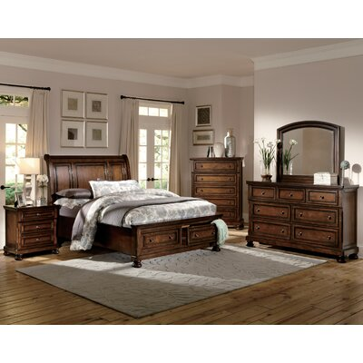 Seville Platform Configurable Bedroom Set