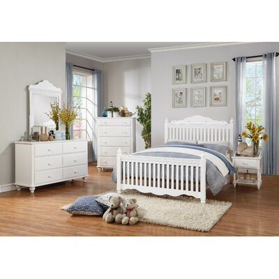 Emmaline Twin Panel Customizable Bedroom Set