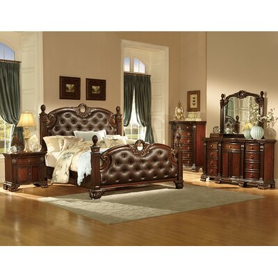 Orleans Queen Panel Configurable Bedroom Set