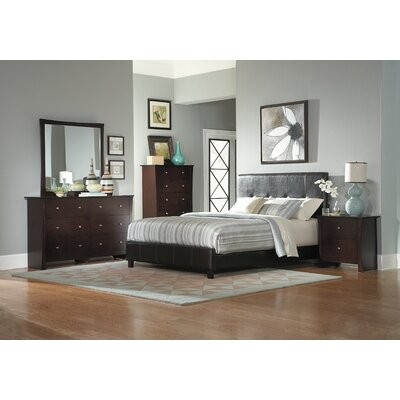 Avelar Upholstered Panel Bed Size: California King