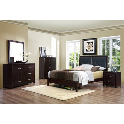 Edina Queen Platform Customizable Bedroom Set