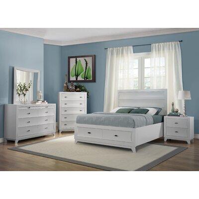 Zandra Queen Platform Customizable Bedroom Set