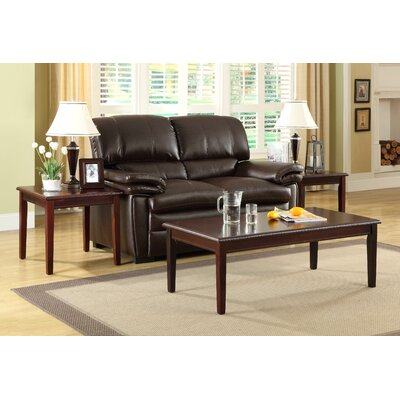 woodbridge home designs arlo 3 piece occasional coffee table set 4545 42 he6716 - Woodbridge Home Designs Furniture